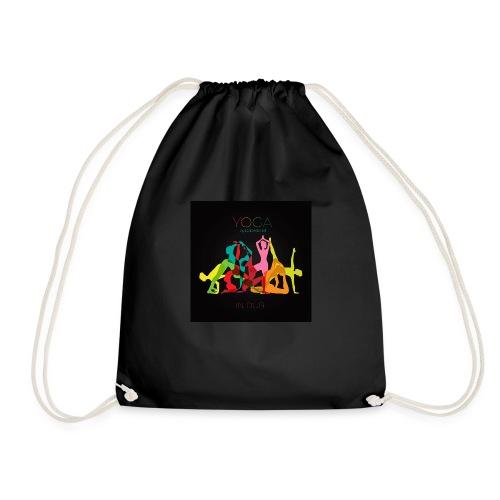 Yoga in Dub - Drawstring Bag