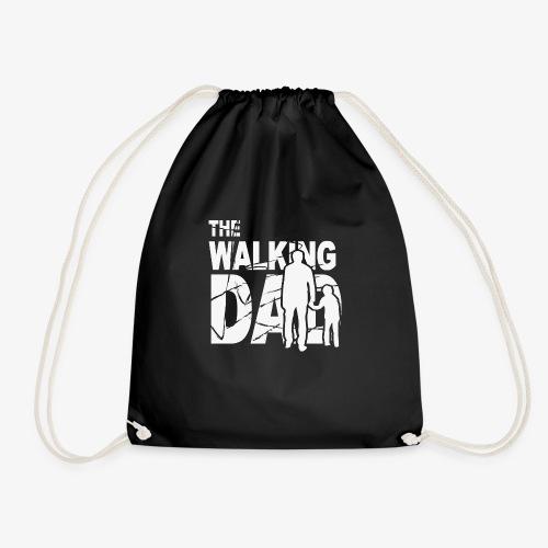 The walking dad - Drawstring Bag