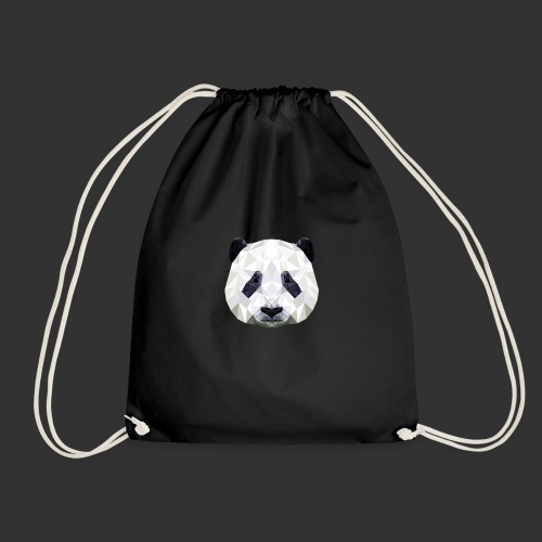 Panda Low Poly - Sac de sport léger