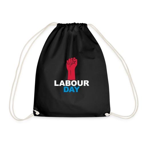 Labour day - Drawstring Bag
