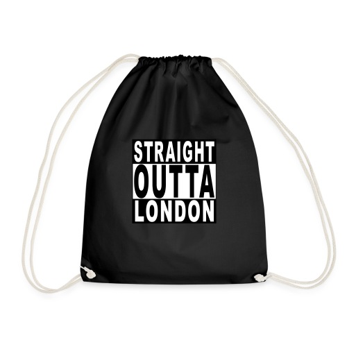 STRAIGHT OUTTA LONDON - Drawstring Bag