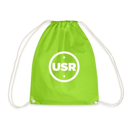 Unique Sessions Radio White Logo 2020 - Drawstring Bag