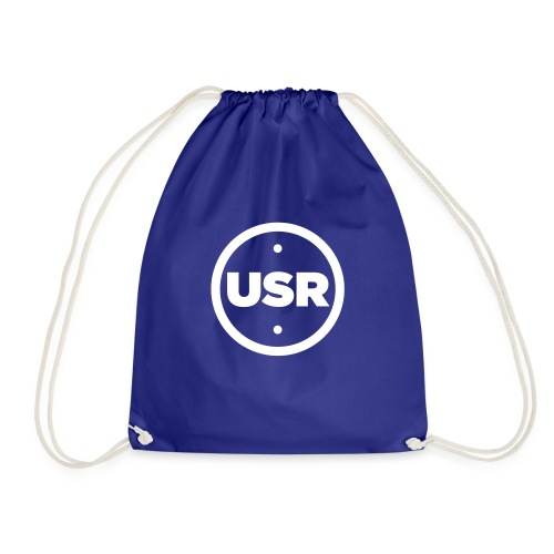Unique Sessions Radio White Logo 2020 - Drawstring Bag