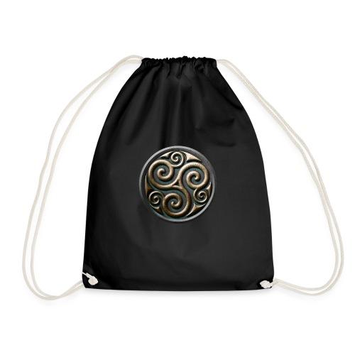 Celtic trisquel - Drawstring Bag