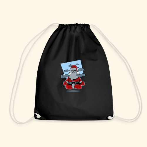 Papa Noël zen - Sac de sport léger