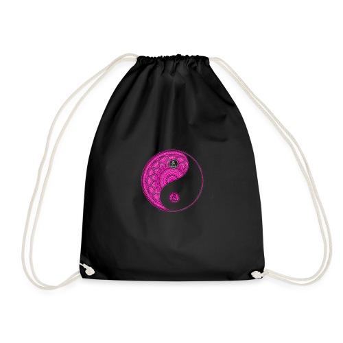 Mandala YinYang Pink MaitriYoga - Sac de sport léger