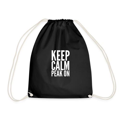 Keep Calm Peak On - Drawstring Bag