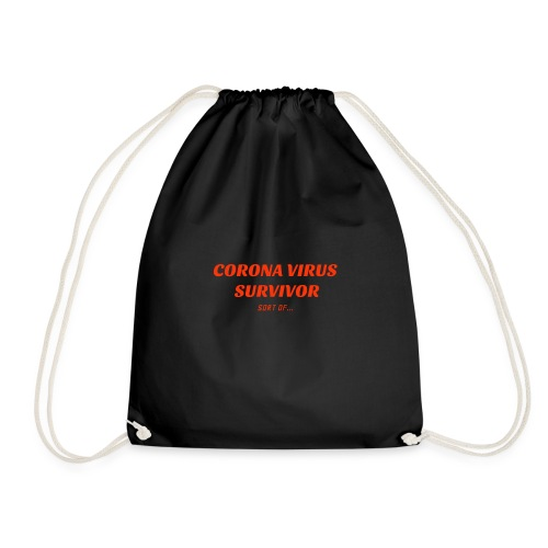 Corona Survivor - Drawstring Bag