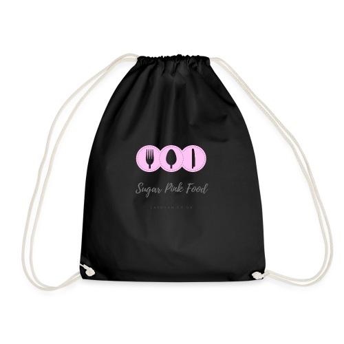 Sugar Pink Food - Drawstring Bag