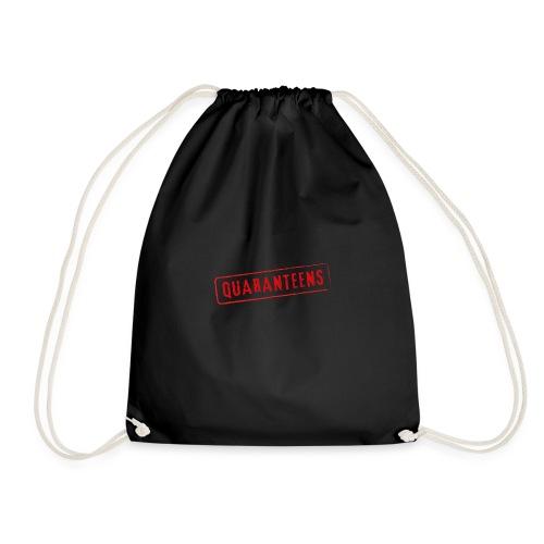 Quaranteens Motivational Quote Coronavirus - Drawstring Bag
