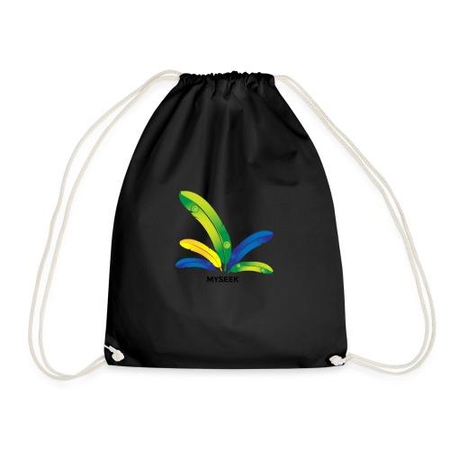 Bright Feather - Drawstring Bag
