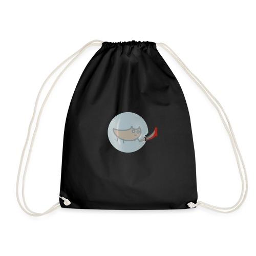 lookin sus - Drawstring Bag