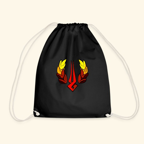 Hades The Game Logo Saving Icon Supergiant - Drawstring Bag