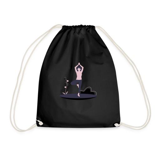 undraw yoga 248n - Mochila saco