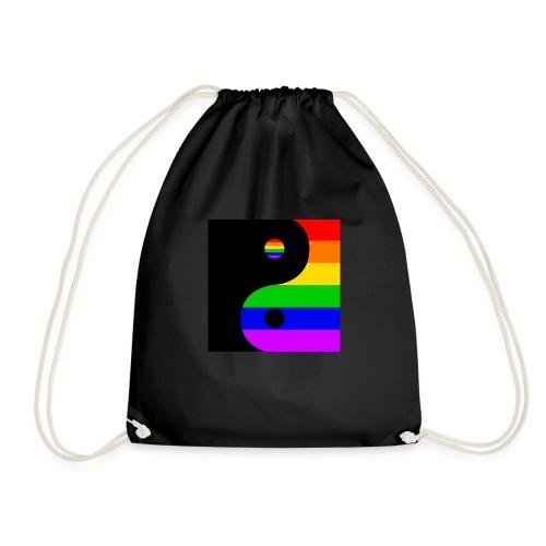 Yin and LGBT - Drawstring Bag