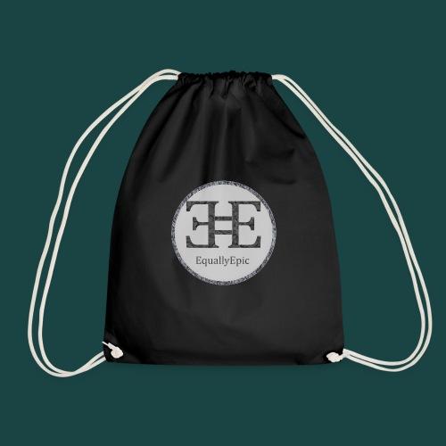 Black Male Tee 2 long - Drawstring Bag