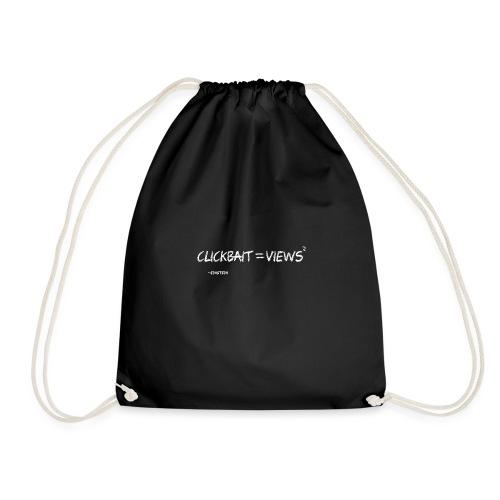 Clickbait T-Shirt - Drawstring Bag