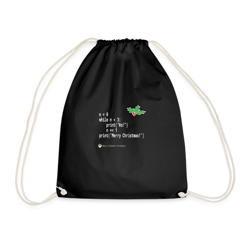 Ho! Ho! Ho! - Drawstring Bag