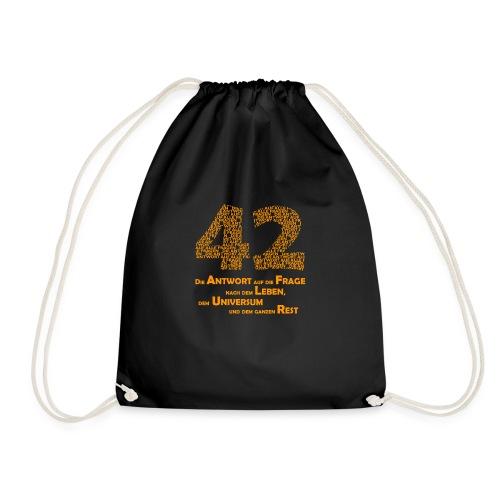 DIE Antwort - 42 - Turnbeutel