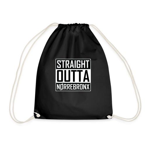 Straight Outta Nørrebronx - Drawstring Bag