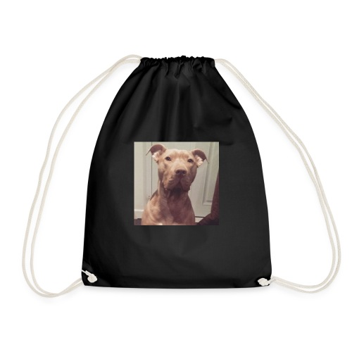 Hank with no collar ❤️ - Drawstring Bag