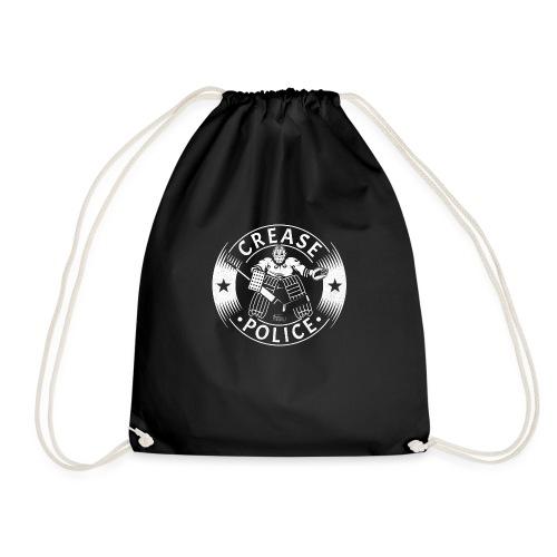 Crease Police Hockey Goalie - Drawstring Bag