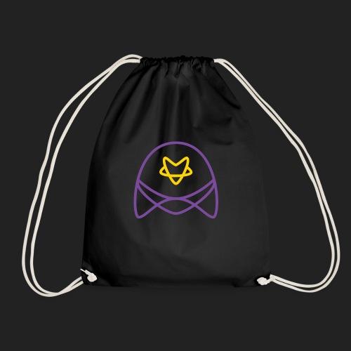 strr logo bigger - Drawstring Bag