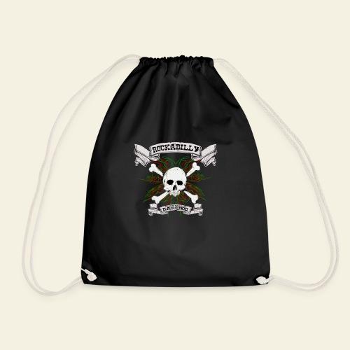 Rockabilly Raredog Skull - Sportstaske