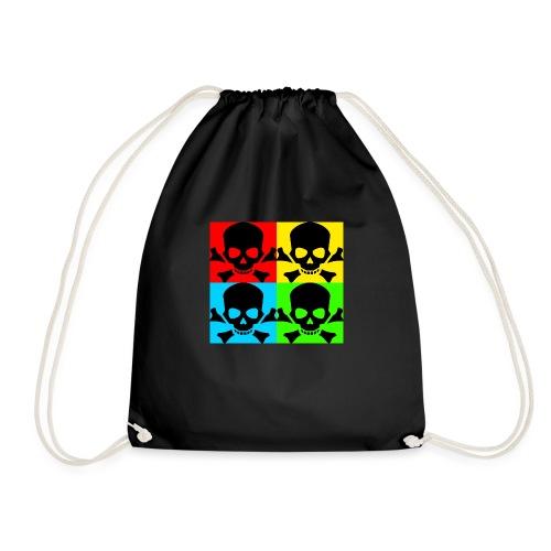 Art Skull - Drawstring Bag