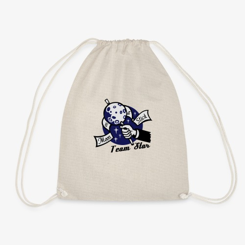 Moon on a Stick - Team Star - Drawstring Bag