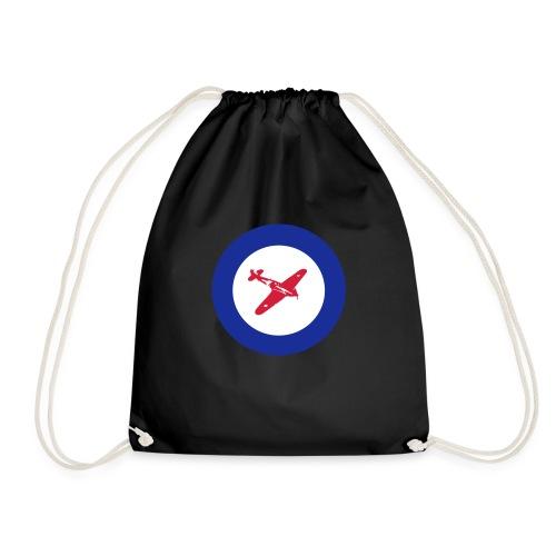 Hurricane Roundel - Drawstring Bag