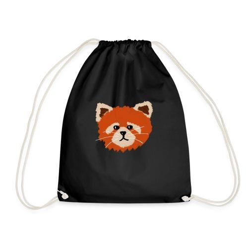 Amanda the red panda - Drawstring Bag