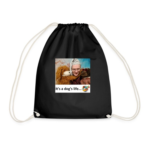 It's a dog's life - Drawstring Bag