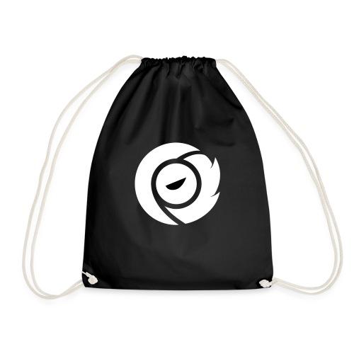 SOS Logo White - Drawstring Bag