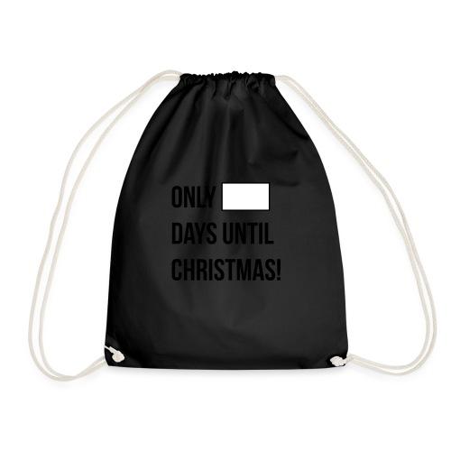 Christmas Countdown - Drawstring Bag