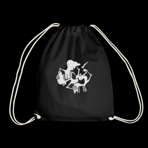 human symphony - Drawstring Bag