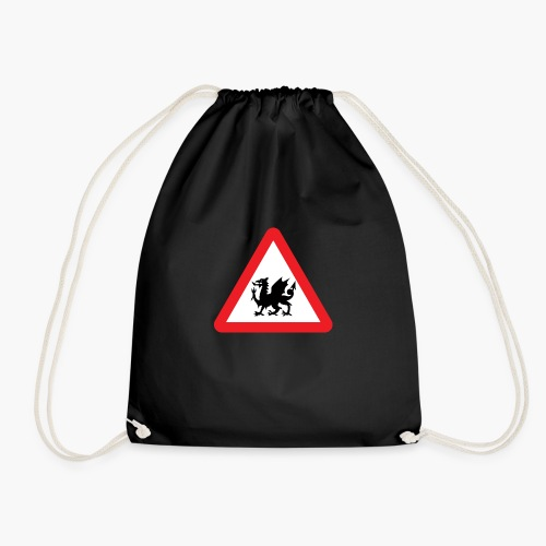 Welsh Dragon - Drawstring Bag