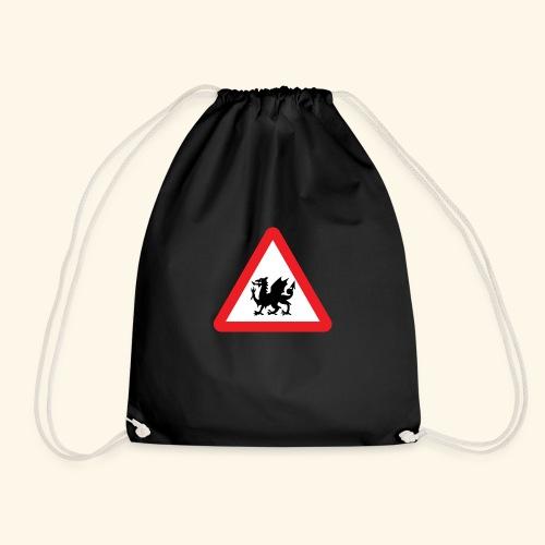 Welsh Dragon - Drawstring Bag