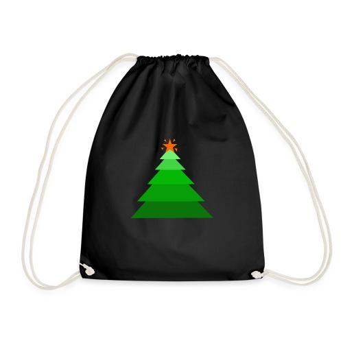 Arbol de navidad con estrella - Mochila saco