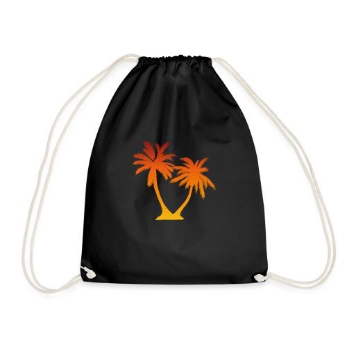 Palm Boom Zonsondergang - Gymtas