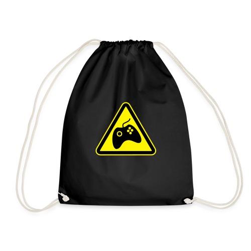 HAZGAM_BLACK - Drawstring Bag