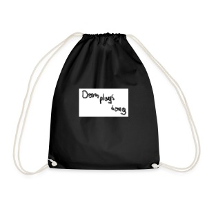 dom plays song - Drawstring Bag