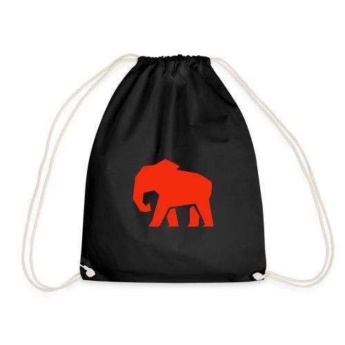 Roter Elefant - Turnbeutel