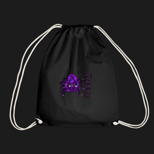 spider spooked - Drawstring Bag