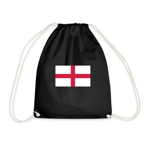 Bandera de Inglaterra / Color personalizable - Drawstring Bag