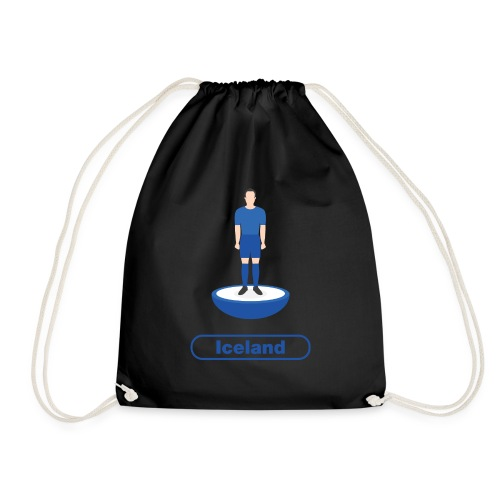 Iceland Football - Drawstring Bag