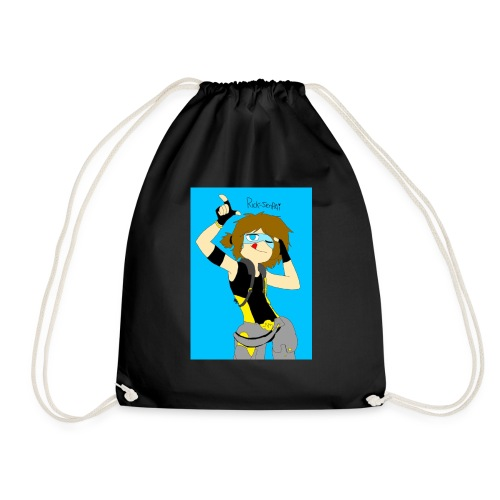 INCREIBLE DIBUJO DE LA SEÑORITA ASHLEY - Drawstring Bag