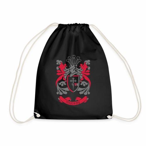 Family Crest: Mulroy - Drawstring Bag