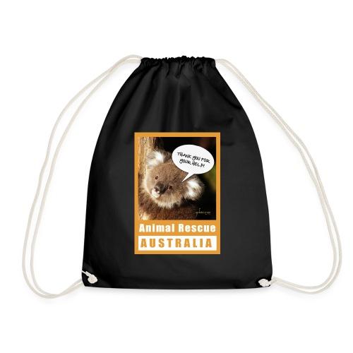 Thank You Koala - Spendenaktion Australien - Turnbeutel