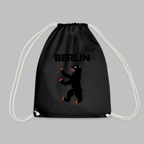 BERLIN - Berliner Bär (Vektor) - Turnbeutel